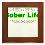 sober-life Framed Tile