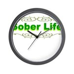 sober-life Wall Clock