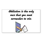 surrender-to-win Sticker (Rectangle 10 pk)