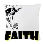 faith Woven Throw Pillow
