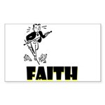 faith Sticker (Rectangle 10 pk)