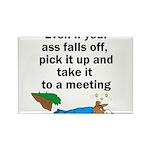 ass-falls-off Rectangle Magnet (100 pack)