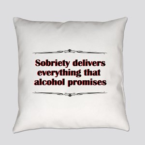 sobriety-delivers Everyday Pillow