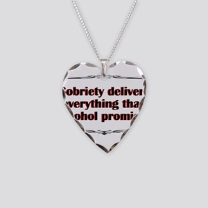 sobriety-delivers Necklace Heart Charm