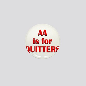 aa-quitters Mini Button