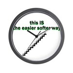 easier-softer Wall Clock