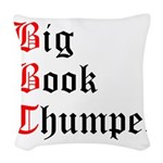 big-book-thumper-2 Woven Throw Pillow