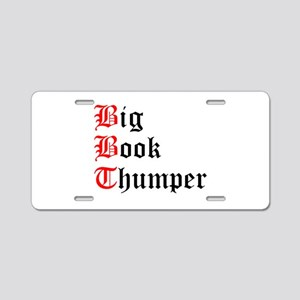 big-book-thumper-2 Aluminum License Plate