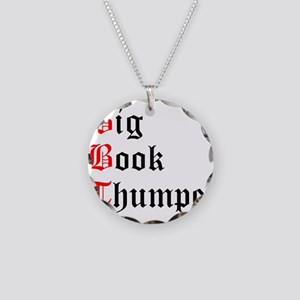 big-book-thumper-2 Necklace Circle Charm