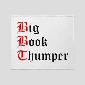 big-book-thumper-2 Throw Blanket