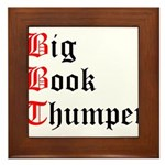 big-book-thumper-2 Framed Tile
