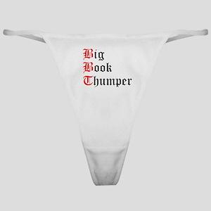 big-book-thumper-2 Classic Thong