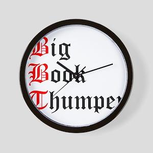 big-book-thumper-2 Wall Clock