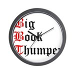 big-book-thumper-2 Wall Clock