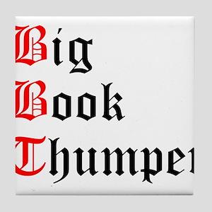 big-book-thumper-2 Tile Coaster