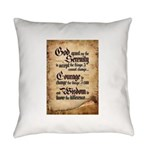serenity-scroll Everyday Pillow