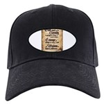 serenity-scroll Black Cap with Patch