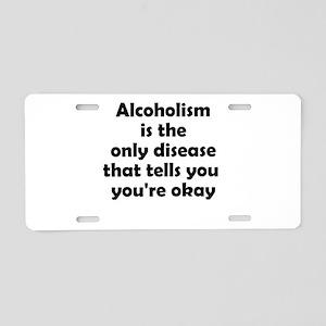 youre-okay Aluminum License Plate