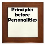 principles=personlaities Framed Tile