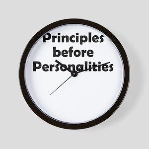 principles=personlaities Wall Clock