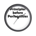 principles=personlaities Wall Clock