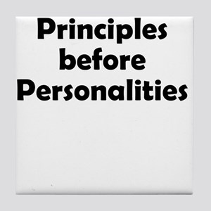 principles=personlaities Tile Coaster