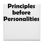 principles=personlaities Tile Coaster