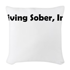 living-sobr-inc Woven Throw Pillow