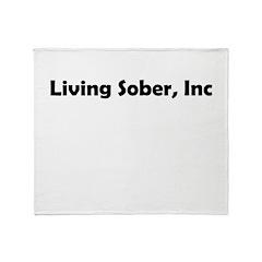 living-sobr-inc Throw Blanket