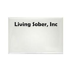 living-sobr-inc Rectangle Magnet (10 pack)