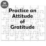attitude-gratitude Puzzle