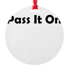 pass-it-on Ornament