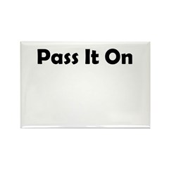 pass-it-on Rectangle Magnet (100 pack)