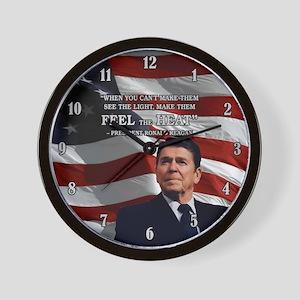 PRES40 FEEL THE HEAT Wall Clock