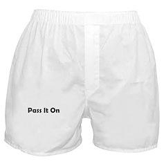 pass-it-on Boxer Shorts