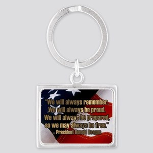 PRES40 ALWAYS BE Landscape Keychain