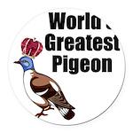 greatestpigeon Round Car Magnet