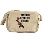 greatestpigeon Messenger Bag