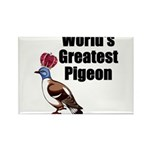 greatestpigeon Rectangle Magnet