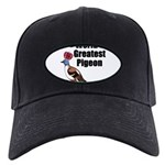 greatestpigeon Black Cap with Patch