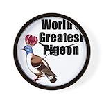 greatestpigeon Wall Clock