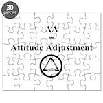 Attitude Adjustment Puzzle
