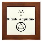 Attitude Adjustment Framed Tile