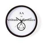Attitude Adjustment Wall Clock