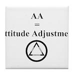 Attitude Adjustment Tile Coaster