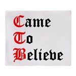 came-to-believe-oldeng Throw Blanket