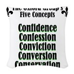 5-concepts Woven Throw Pillow