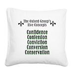 5-concepts Square Canvas Pillow
