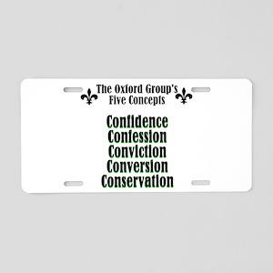 5-concepts Aluminum License Plate