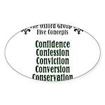 5-concepts Sticker (Oval 10 pk)